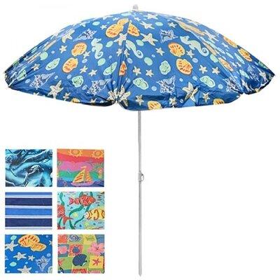 Зонт пляжный d1.8м с наклоном MH-0036