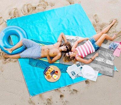 Пляжный коврик H&Q Sand Free Mat антипесок 2м 2м