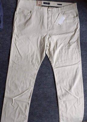 Новые большие льняные штаны 44 размер