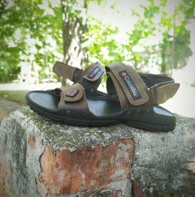 Продано: Кожаные мужские сандалии Columbia