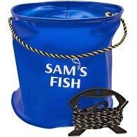 Ведро складное рыболовное