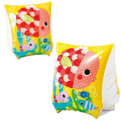 Нарукавники надувные Intex 58652 Рыбки, 23х15см, 3-6 лет