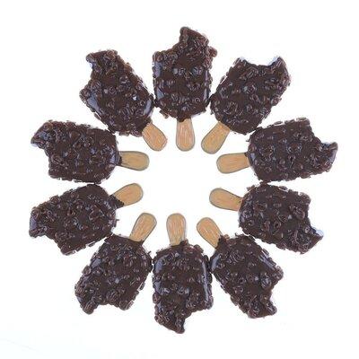 Мороженое Шоколадное эскимо еда продукты миниатюра для кукол.