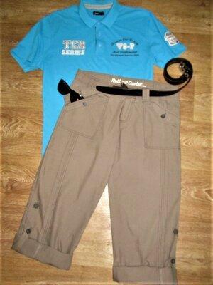 Легкие летние брюки-трансформер бриджи-шорты Тм Denim CO