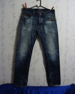 Джинсы муж Пот-44 см 2Y-32 стрейч брюки штаны в поездку шорты