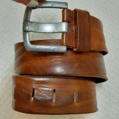 Голландия кожаный широкий 5,3 см ремень, пояс Belt Division