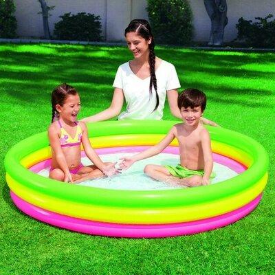 Надувной бассейн 152х30см. Bestway 51103, детский. Дитячий басейн 2 .