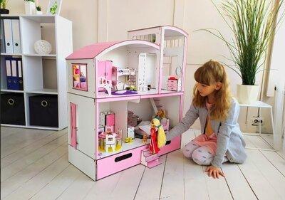 Кукольный домик мебель,текстиль. Дом для барби.