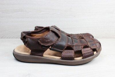 Кожаные закрытые сандали Clarks active air, размер 45 - 45.5