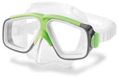 Маска для плавания Surf Rider Masks салатовый Intex 55975