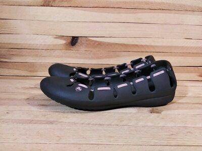 Crocs W8 балетки мокасины кроксы босоножки 25 см