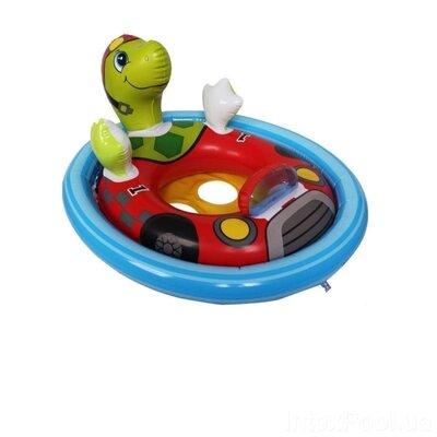 Детский надувной плавательный круг для плавания детей с ножками игрушка