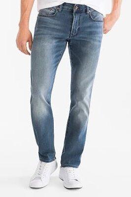 джинсы мужские slim fit angelo litrico размер33/32, джинси чоловічі р33/32 c&a