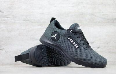 Продано: Мужские летние кроссовки Jordan из натуральной кожи