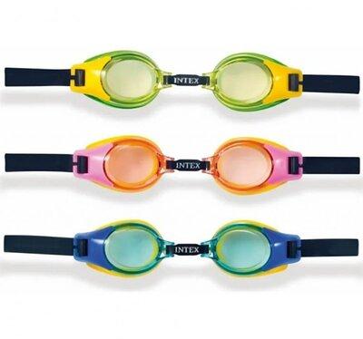Очки для плавания Intex 55601, 55602 для детей 3-8 лет
