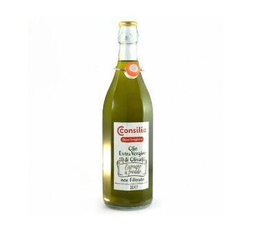 Оливковое масло Consilia Extra Vergine Di Oliva ориг 100% натур Италия Нефильтрованое для заправки с