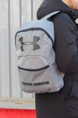 Рюкзак Under Armor серый меланж