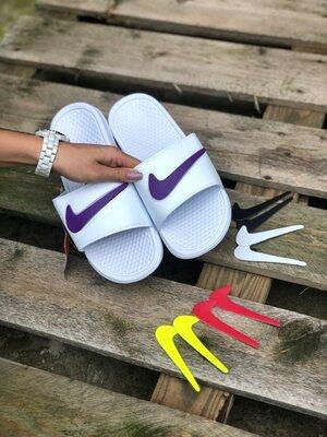 Мужские Шлепанцы Nike Сменый Лого Aaa 36-37-38-42