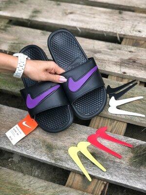 Мужские Шлепанцы Nike Сменый Лого Aaa 40-41-42-43-44-45