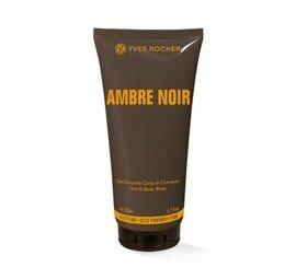 Парфюмированный гель для тела и волос с ароматом Черной амбры Ambre Noir от Ив Роше, 200 мл