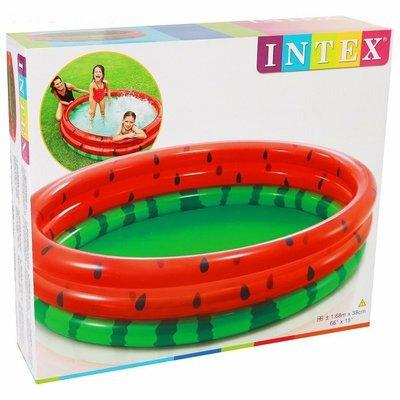 Інтекс 58448 Кавун басейн дитячий надувний Intex
