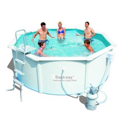 Морозоустойчивый Сборный бассейн Bestway Hydrium 56574 360x120 с песочным фильтром