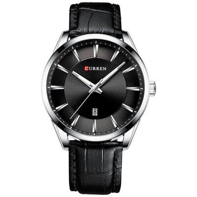 Мужские Наручные Часы Curren 8365 Black