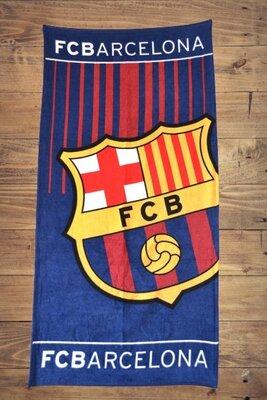 Банное пляжное полотенце с логотипом любимого футбольного клуба