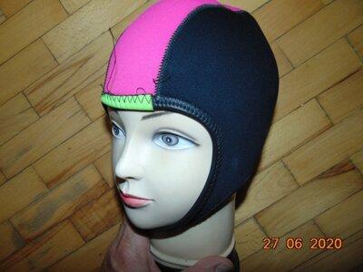 Спортивная фирменная термо шапка шапочка шлем конькобег бобслей лижи Pro Motion.с-м.унисекс .
