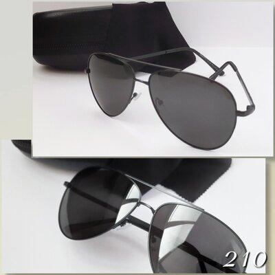 Стильные очки черные с поляризацией