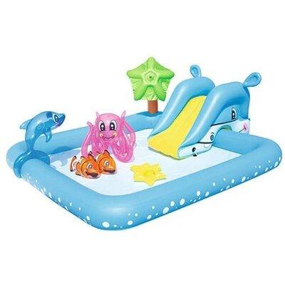 Вместительный надувной бассейн «Фантастический аквариум»
