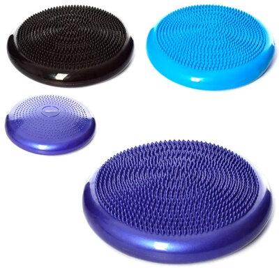 Массажная подушка полусфера - балансировочный диск, 33 x 3,5 см.