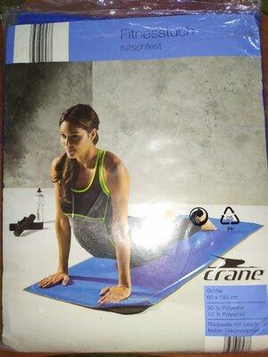 Новый коврик-полотенце для йоги и фитнеса Crane - 60 x 183см