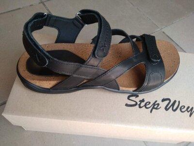Босоножки кожаные сандалии мужские