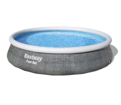 Надувной бассейн Bestway 57376 396x84 с картриджным фильтром