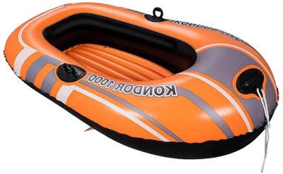 Лодка надувная одноместная 155 на 97см, надувная, до 80 кг Bestway