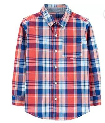 Стильная детская рубашка Carters, 7-9 лет, новая