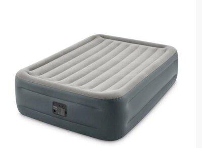 Надувная кровать Intex 64126, 152 х 203 х 46, со встроенным электрическим насосом.
