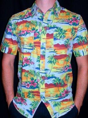 ZARA Шикарная брендовая рубашка- Лето - S - M