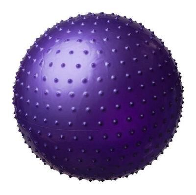 Мяч для фитнеса, фитбол массажный с шипами, 55 см. с насосом - Gym Ball