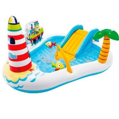 Надувной игровой центр Intex 57162 «Веселая Рыбалка»
