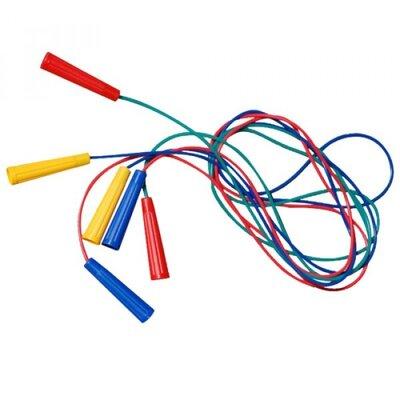 Скакалка 1 цветная длина 220 см, диам 3,9 мм 034/2 Бамсик