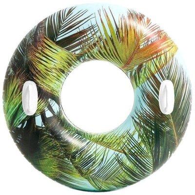 Надувной круг Цветочный, пальма Intex 58263