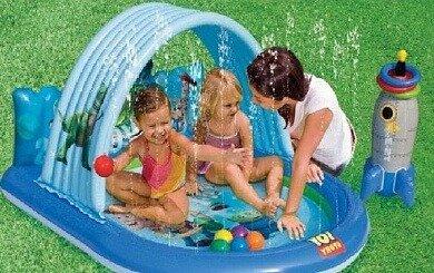Детский Игровой центр-бассейн История игрушек с игрушками Intex 57127