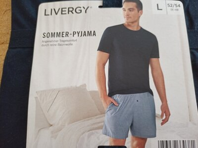Костюм футболка и шорты Livergy L 50-52