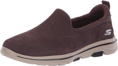 Женские слипоны Skechers Go Walk 5-15913 Sneaker кроссовки нубук лоферы мокасины . Сша. Оригинал.