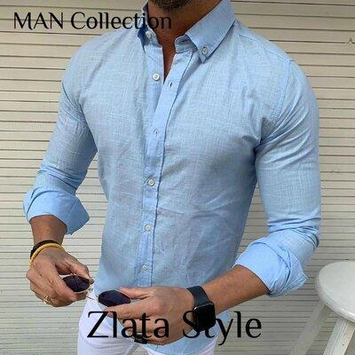 Распродажа Модель 7016. Рубашка Ткань Коттон, производство Турция Отменное качество