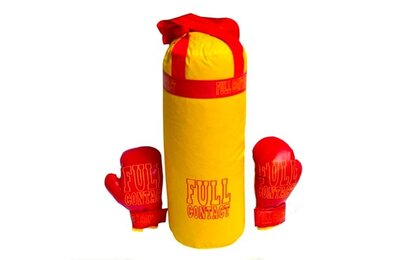 Боксерский набор 0004DT Бол Full Желтый