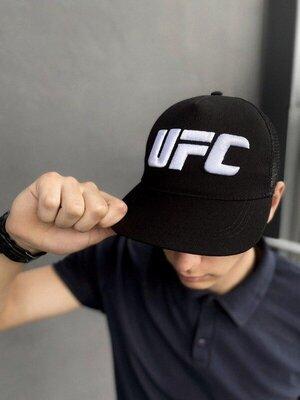 Кепка UFC большой логотип черная 1591006691in