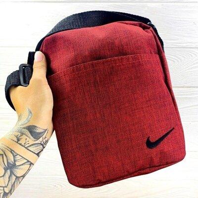 Барсетка Nike красный меланж 1593005291in